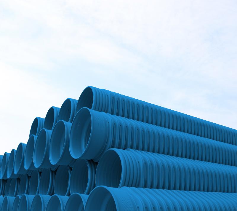 改性高密度聚乙烯(HDPE-IW)六棱结构壁管